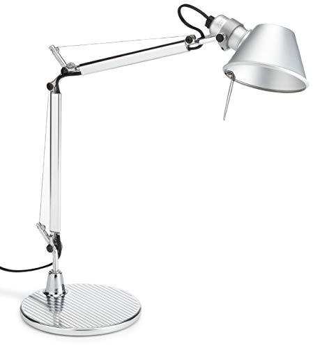 Tolomeo micro tavolo - Halo alluminio