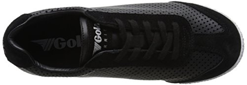 Gola Harrier Cubed, Baskets Basses femme Noir (Black)