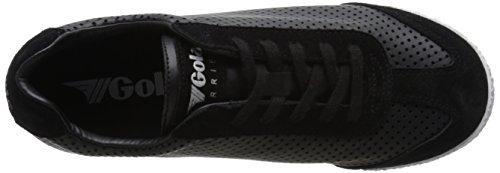 Gola Harrier Cubed Damen Sneaker Schwarz (Black)
