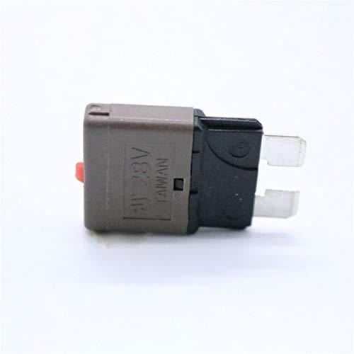 7.5 Amp 28V DC Circuit Breaker Car Blade Sicherungen Kfz Manual Reset Sicherung Auto Insurance Tablets Überlastungsschutzvorrichtung