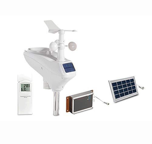 EP-Home Profesional Estacion Meteorologica, Sensor Inalámbrico con Energía Solar, Puede Transmitirse...