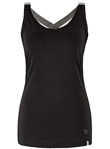 Gabbana Mode T-shirt (Key Largo Damen Tanktop WT Top Lucy schwarz (15) L)