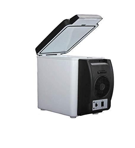 DYV 6L Auto Mini Kühlschrank Tragbar Heiß und kalt Kompakt Persönlicher weißer Kühlschrank (Teppich Abdichtung)