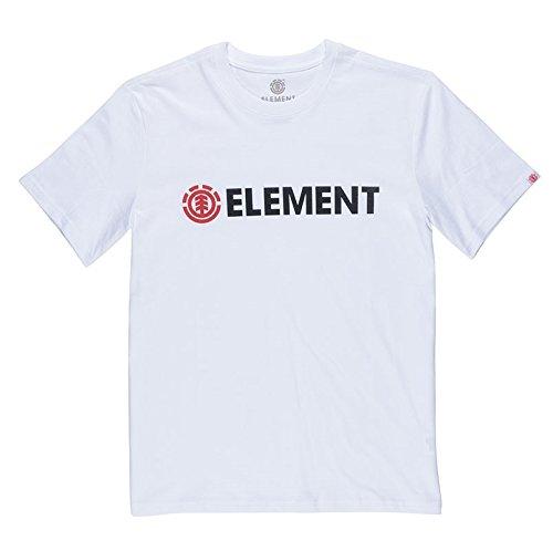 Element Herren Blazin Ss Shirt und Hemd Optic white