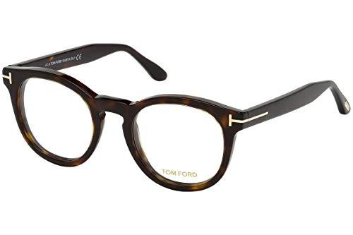 Tom Ford FT5489 Brillen 48-22-145 Havana Braun Mit Demonstrationsgläsern 052 TF5489 FT 5489 TF 5489
