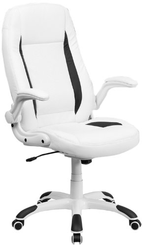 flash-furniture-ch-cx0176h06-wh-gg-high-back-white-leather-executive-office-chair-with-flip-up-arms-