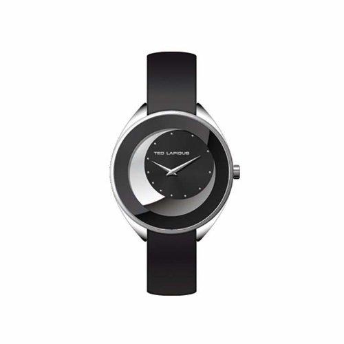 Ted Baker Audio A0629ANPN - Reloj para mujeres, correa de cuero color negro