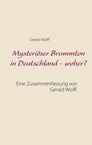 Mysteriöser Brummton In Deutschland Woher Eine Zusammenfassung