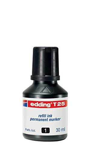 Preisvergleich Produktbild Edding Nachfülltusche T25-01 schwarz