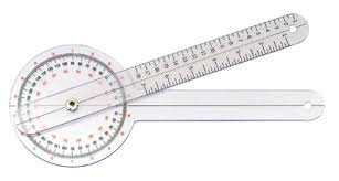 Fitness Assist ~ – Small Plastic Goniometer 8″ / 20cm