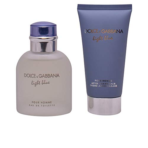 Dolceamp; Pour Blue Regalo Gabbana E Light Set Homme 75ml Edt cRLqSj4A35
