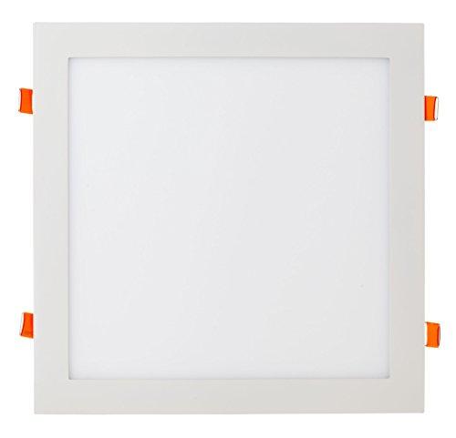 V-TAC VT-2407 Plaza Corriente alterna - Lámparas para paneles LED (Plaza, Techo, Surface mounted, Blanco, Hospital, Oficina, Showroom, Acrílico, Aluminio, Poliestireno (PS))