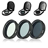 #2: SLB Works Brand New 3pcs ND2 ND4 ND8 Lens Filter For DJI Phantom 4 3 Pro Advanced Drone Camera Set