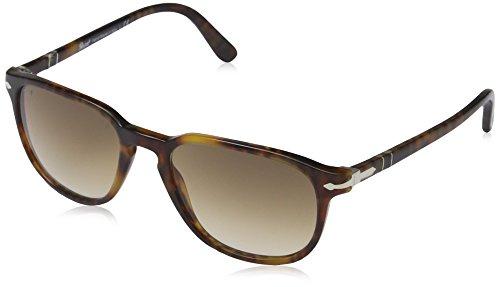 Persol Unisex - Erwachsene Sonnenbrille 3019S, Gr. 52 mm, Spotted havana/Crystal brown gradient