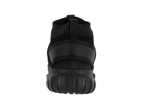 Adidas Tubular Nova Synthétique Chaussure de Course Black-Grey-Black