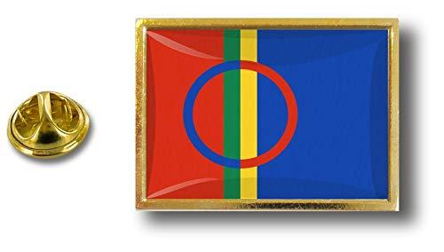 Akacha pin flaggenpin flaggen Button pins anstecker Anstecknadel samen sami sapmi -