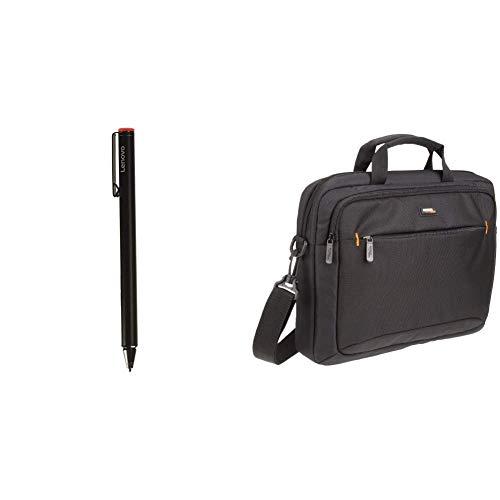 Lenovo THINKPAD Active CAPACITIVE Pen & AmazonBasics Tasche für Laptop/Tablet mit Einer Bildschirmdiagonale von 35,8cm (14,1Zoll) Thinkpad Tablet Pen