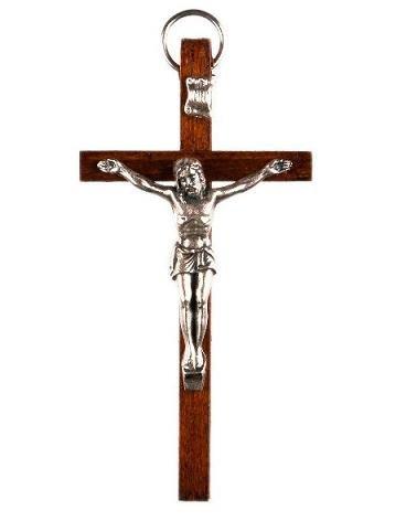 Wandkreuz Kruzifix. Holzkreuz