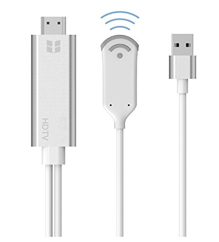 Eximtrade Wireless WiFi MHL Kabel HDMI Interface High-Definition 1080P 2M für iOS Android Windows (Rca Miracast)