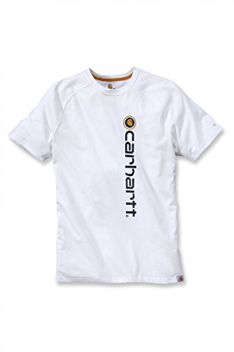 Carhartt Funktionsshirt Force mit Frontlogo White
