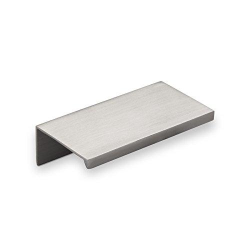 5 x maniglia per mobili in alluminio searl 70 mm finitura in acciaio inox maniglia profilo maniglia per cassetti maniglia per cucina di so tech