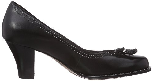 Clarks Bombay Lights Damen Pumps Schwarz (Black Leather)