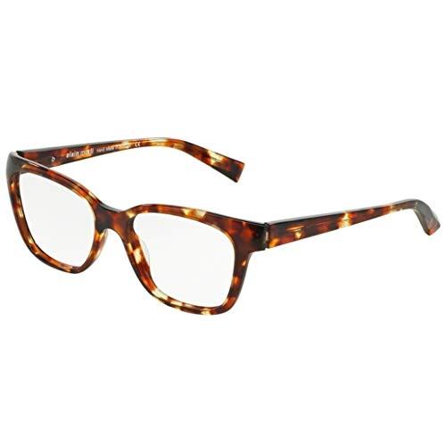 Alain mikli occhiali da vista, modello 0a03035 colore 2771, montatura in acetato color havana stile donna