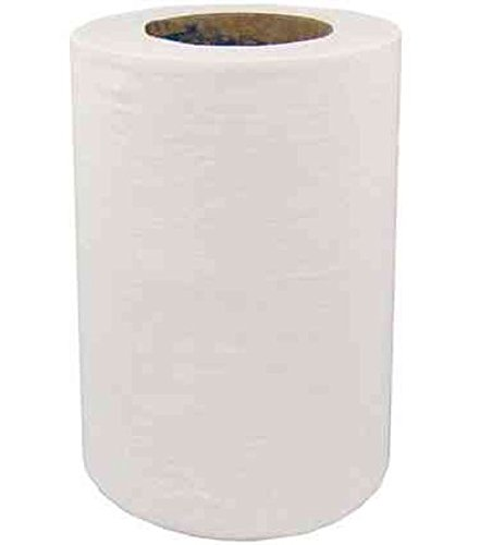 Essentials SPD1152 Mini Centrefeed, 65 m, 2-Ply, White (Pack of 12)