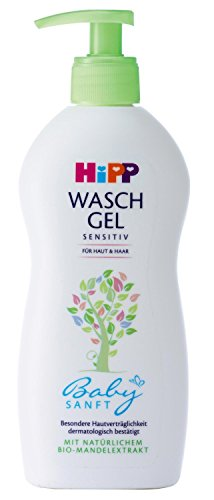 Hipp Babysanft Waschgel, 3er Pack (3 x 400ml)