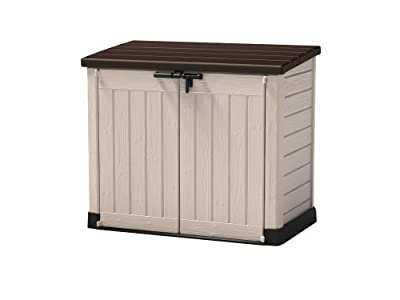 Keter Storage bench Store It Out MAX 146x82x125 - low-cost UK light shop.