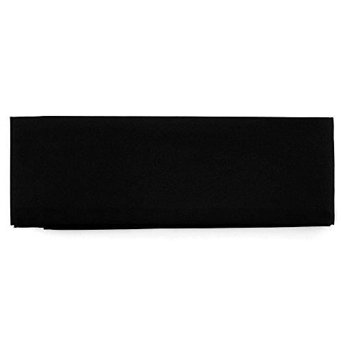 Kyoto Sen'I Kimono-Obi, Kimono-Gürtel, schwarz KOB-01 Breite 10 cm, Länge ca 270 cm aus Japan