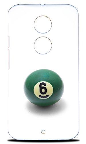 Foxercases Gestaltung Snooker Pool-Kugeln mit harter Rückseite Schutzhülle für Motorola Moto X (2. Gen.) -