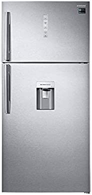 Samsung Top Mount Refrigerator with Digital Inverter Compressor, Easy Clean Steel finish - RT85K7110SL