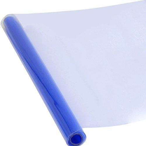 Lucido Tinta Blu Di Sovrapposizione Foglio Avvolgere Pellicola Autoadesivo Per Fari Auto Lampade Luci Fendinebbia Di Coda
