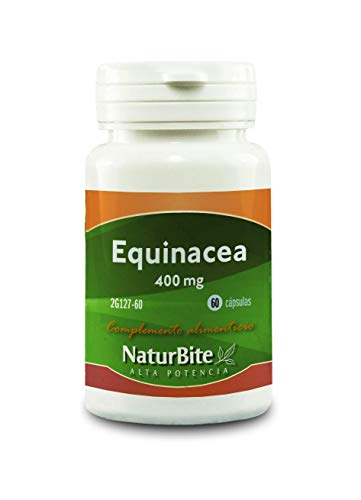 NaturBite Equinacea, 400 mg - 60 Cápsulas