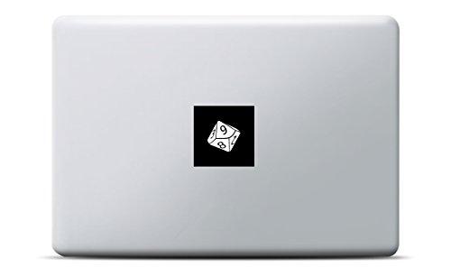 MacBook Sticker Würfel - Netbook-gamer