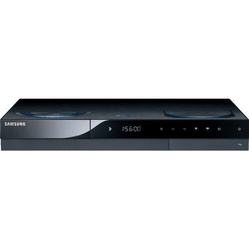 Samsung BD-C8500S/XEG Blu Ray-Rekorder mit 500 GB Festplatte (DVB-S2 Tuner, DivX-Zertifiziert, HDMI, Upscaler 1080p, USB 2.0) schwarz
