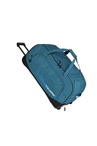 """Travelite Reise- und Sporttaschen \""""KICK OFF\"""" von travelite in 3 Farben: praktisch, robust und auch zum Ziehen Reisetasche, 77 cm, 120 L, Petrol"""
