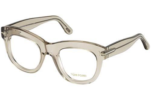 Tom Ford FT5493 Brillen 49-22-140 Grau Transparent Mit Demonstrationsgläsern 020 TF5493 FT 5493 TF 5493