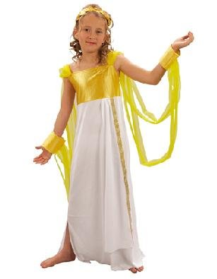 Aphrodite Göttin der Liebe Girl De Luxe 7-9J Kinderkostüm