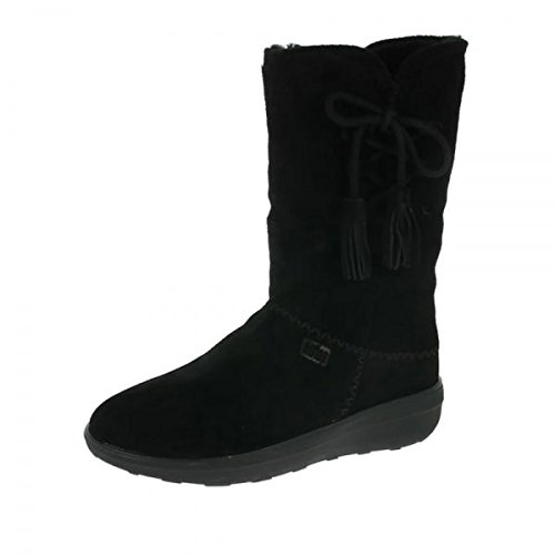 Fitflop Mukluk Boots (FitFlop Mukluk High Boot Colour: Black, Size: UK3)