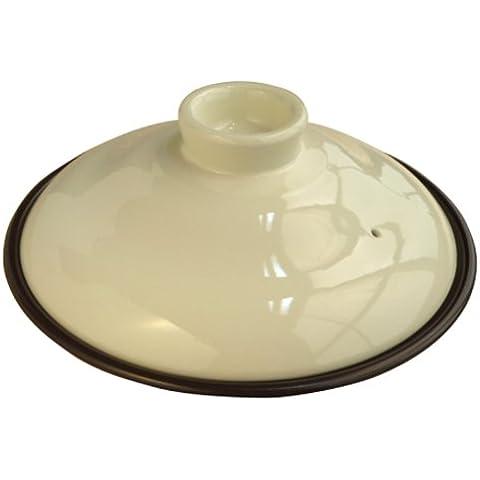 1-2 persona crema 15746 HEAT CUOCO ceramica con coperchio (Giappone import / Il pacchetto e il manuale sono scritte in giapponese)