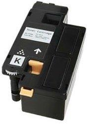 Schwarz PREMIUM Toner kompatibel für Dell C1660, C1660W, C1660DW, C1660CN, C1660CNW | 1.250 Seiten (Dell Ersatz)