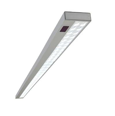 """Sehr edle Aluminium Warmweiss Unterbauleuchte mit """"Easy-touch"""" Sensorschalter LED Anbauleuchte Aufbauleuchte Lichtleiste"""