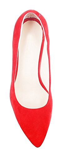 NIUERTE NIUERTEWife - A Collo Alto Donna Red Suede