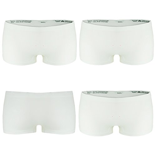 n Boxershorts Panties in Weiß GR. S/M Unterwäsche Hot Pants ()