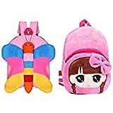 FASNO Combo bagpacks, Kids Bag , Plush Bags , School Bags for Kid Girl/boy/Toddler .