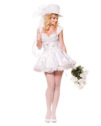 Horror-Shop Zauberhafte Braut Premium Kostüm Gr. XL