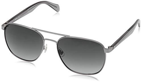 Fossil Fos2081/S-R81-57 Herren Sonnenbrille, Silber, 57