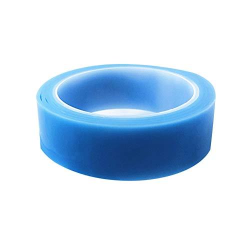 TankMR 1/2/3/5 m doppelseitiges, transparentes Klebeband für Gel-Matte, Nano waschbar, abnehmbar und wiederverwendbar, rutschfestes Gel-Klebeband, blau, 2 m